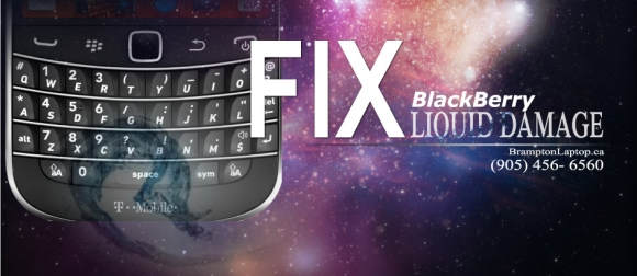 fix blackberry water damage
