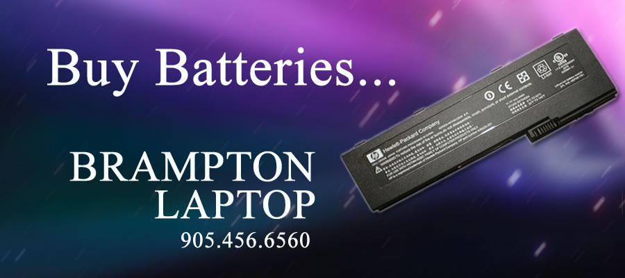 Buy Batteries for Windows and  Apple Mac Laptops BATTERIES BRAMPTON