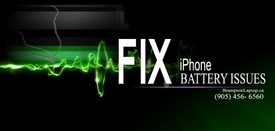 FIX battery issues iphone